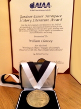 http://billclancey.name/AIAA Certificate Medal